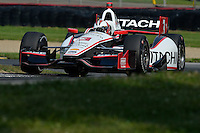 Helio Castroneves, Mid Ohio Sports Car Course, Lexington, OH USA 8/3/2014