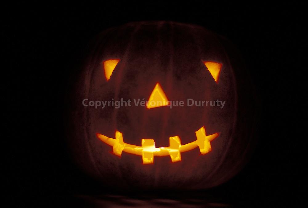 Pumpkin's smile..Le sourire de la citrouille