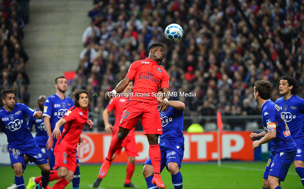 Serge AURIER    - 11.04.2015 -  Bastia / PSG - Finale de la Coupe de la Ligue 2015<br />
