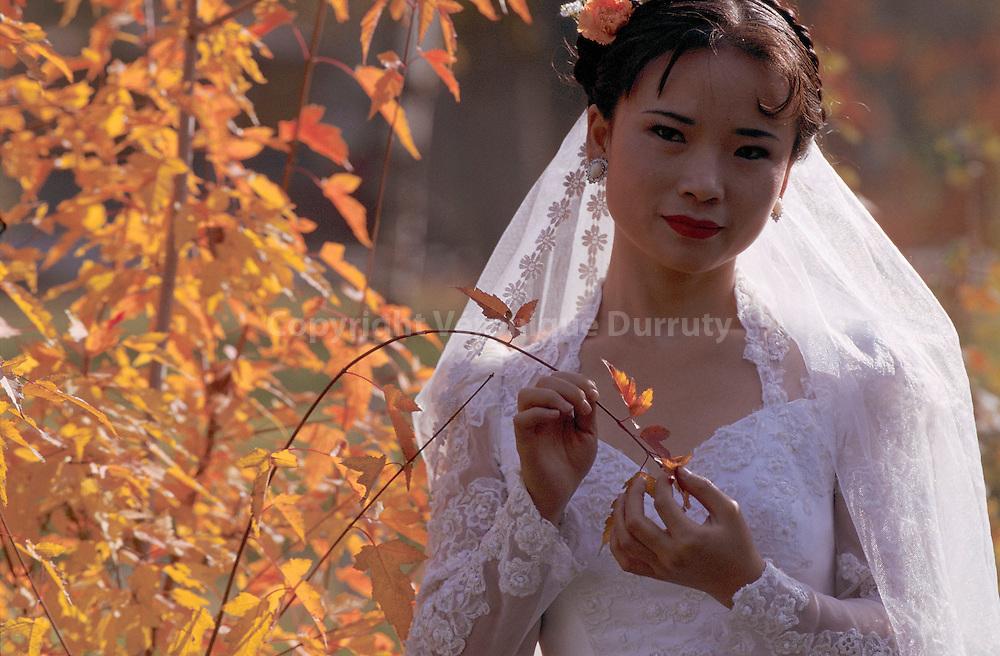 JEUNE MARIEE, URUMQI, XINJIANG, CHINE