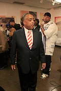 Rev. Al Sharpton and Joesph Guzman at The Rev. Al Sharpton and The National Action Network announcement of plans and strategies for political boycotts, demonstrations and civil disobedience in response to Sean Bell Not Guilty Verdict held at 1199 SEIU on April 29, 2008
