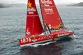 Barcelona World Race, Estrella Damm, Wellington.