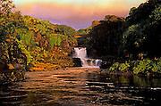 Image of the Seven Sacred Pools along the Hana Highway in Maui, Hawaii, Hawaiian Islands