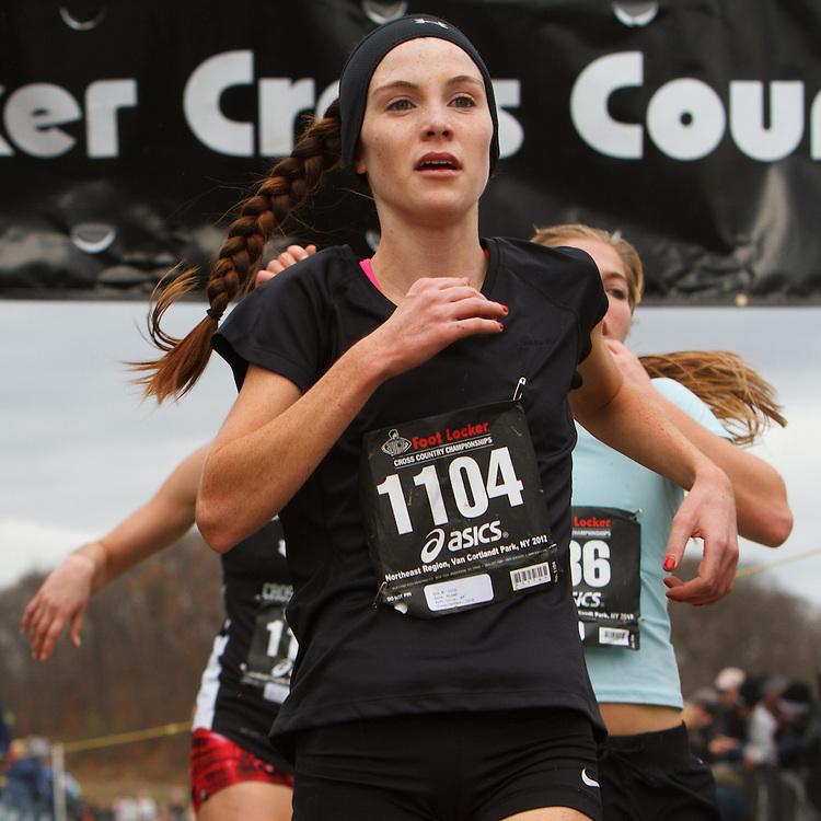Foot Locker Cross Country Northeast Regional Championship race, Niamh Ashe, NY