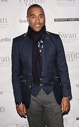 Colin Jackson attends Teens Unite: A Twisted Tale - charity dinner at The Under Globe, Bankside, London on Saturday 22nd November 2014