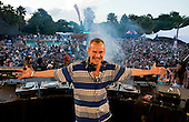 DJ Fatboy Slim at H2O water park, Johannesburg, South Africa.