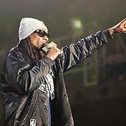 Snoop Dogg  in concert at the Pemberton Music Festival.  Pemberton BC, Canada