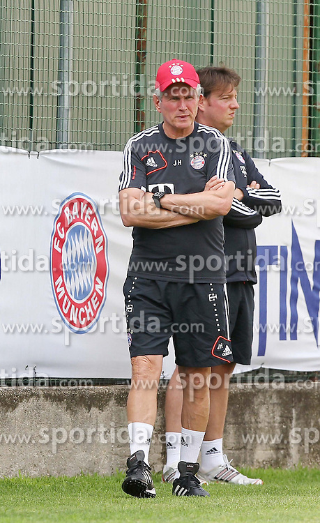 15.07.2012, Stadion, Arco, ITA, FC Bayern Muenchen Trainingslager, im Bild Jupp HEYNCKES (FC Bayern Muenchen), Freisteller // during a Trainingssession of the German Bundesliga Club FC Bayern Munich at the Stadium, Arco, Italy on 2012/07/15. EXPA Pictures © 2012, PhotoCredit: EXPA/ Eibner/ Alexander Neis..***** ATTENTION - OUT OF GER *****