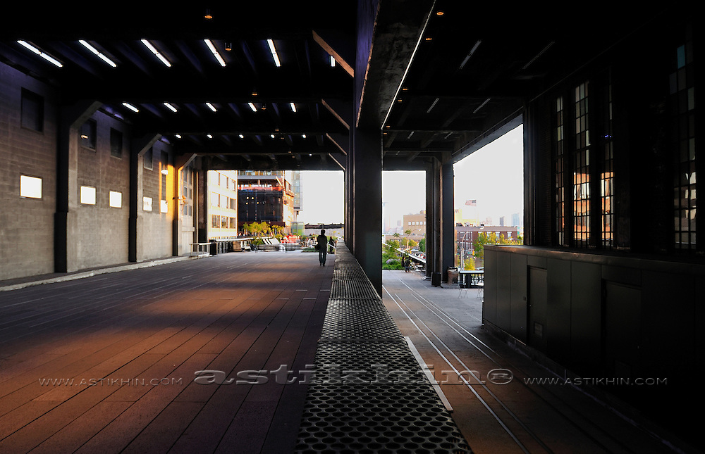 Perspective in High Line Park