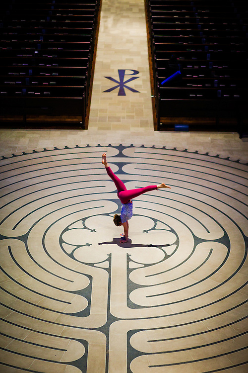 Jenny Sauer-Klein at Grace Cathedral, San Francisco