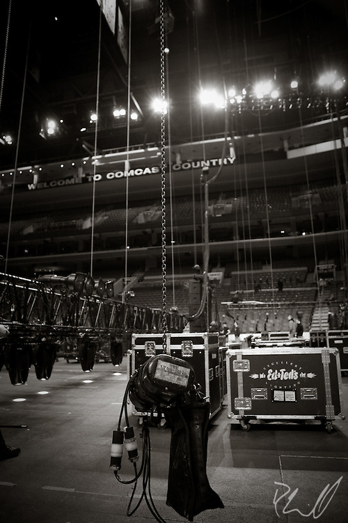 Clair Global / Eagles Load-In