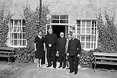 1962 - Monsignors visit Urney Chocolate Factory
