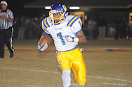 Oxford High's Jarius Barnes (1) vs. New Hope in New Hope, Miss. on Friday, October 18, 2013. Oxford High won 39-14 to remain undefeated.