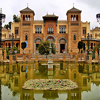 Museum of Arts and Traditions of Sevilla in Seville, Spain <br />