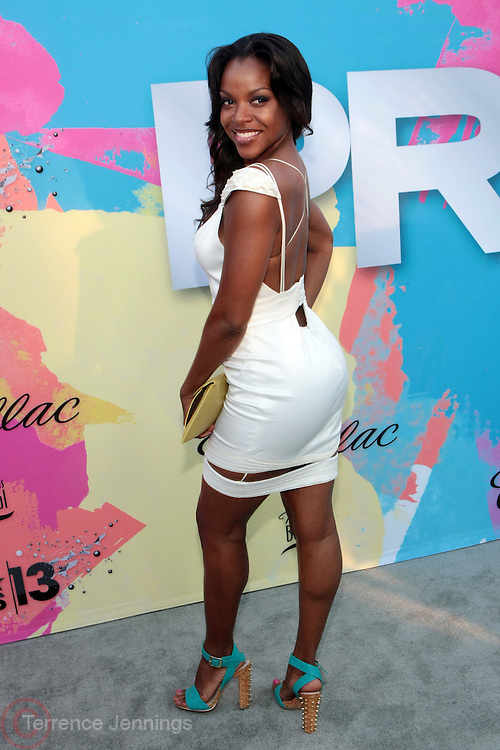 """Los Angeles, CA-June 29:  Actress Nadine Ellis attends the Seventh Annual """" Pre """" Dinner celebrating BET Awards hosted by BET Network/CEO Debra L. Lee held at Miulk Studios on June 29, 2013 in Los Angeles, CA. © Terrence Jennings"""