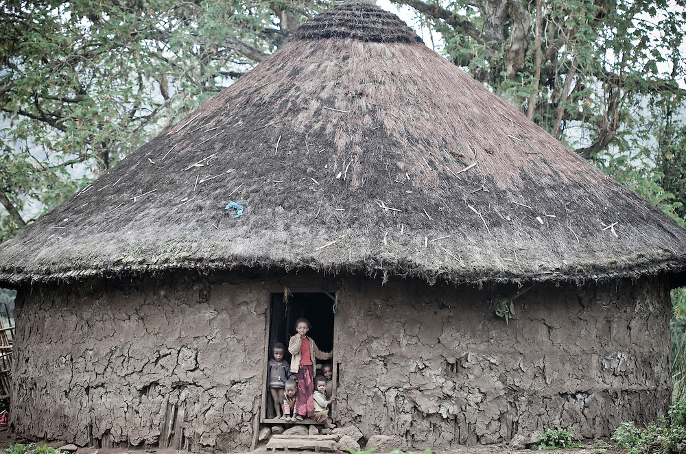 Villagers in Rira, Bale Mountains National Park