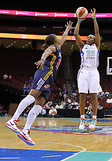 June 3, 2012: Indiana Fever at New York Liberty