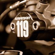 Sephia Brake Block-off Plate - ATV Photoshoot - #119 Robert Kramar.