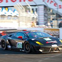 #08 West Yokohama RacingLamborghini Gallardo LP 560-4: Nicky Pastorelli, Dominik Schwager
