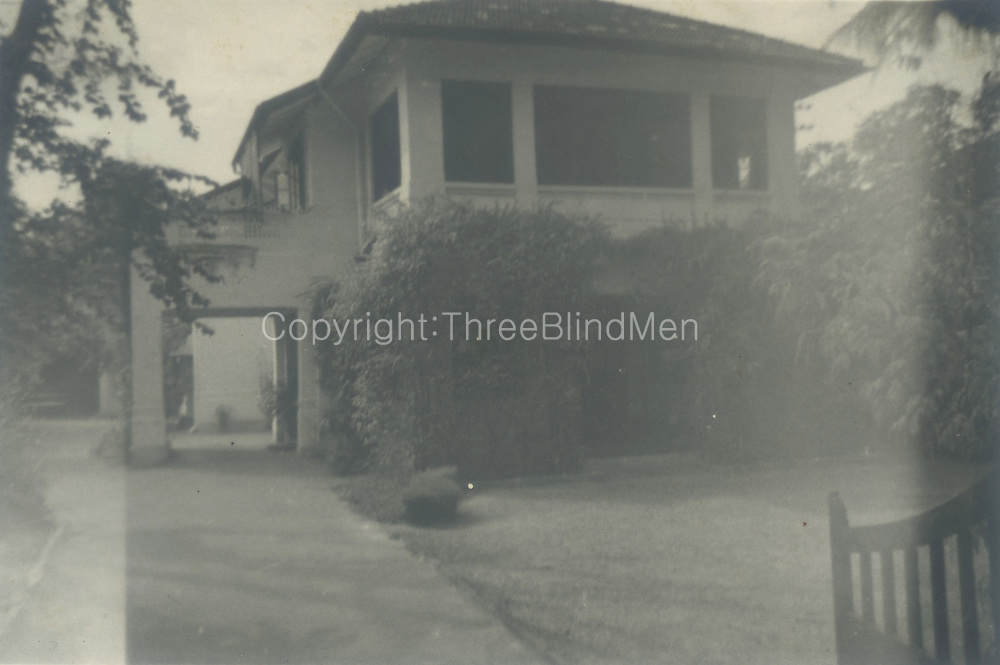 David Leask Collection. Whitall Director&rsquo;s residence in Colombo. 1957.<br />