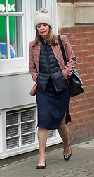 © Licensed to London News Pictures. 26/04/2017. London, UK. Prime Minister Theresa May's Joint Chief of Staff Fiona Hill is seen walking to Conservative Party Headquarters.  Parliament will be dissolved on Wednesday 3rd May ahead of the general election on June 8th, 2017.  Photo credit: Peter Macdiarmid/LNP