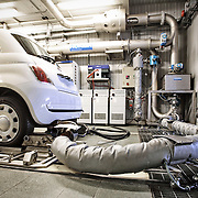 Test emissioni gas di scarico