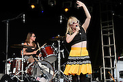 Austra performs at HARD Toronto at historic Fort York. August 4, 2012. Copyright © 2012 Chris Owyoung.