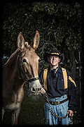 Darren Kramer and Tina<br /> <br /> 1st Cavalry Division Horse Cavalry Detachment photos by Stacy L. Pearsall