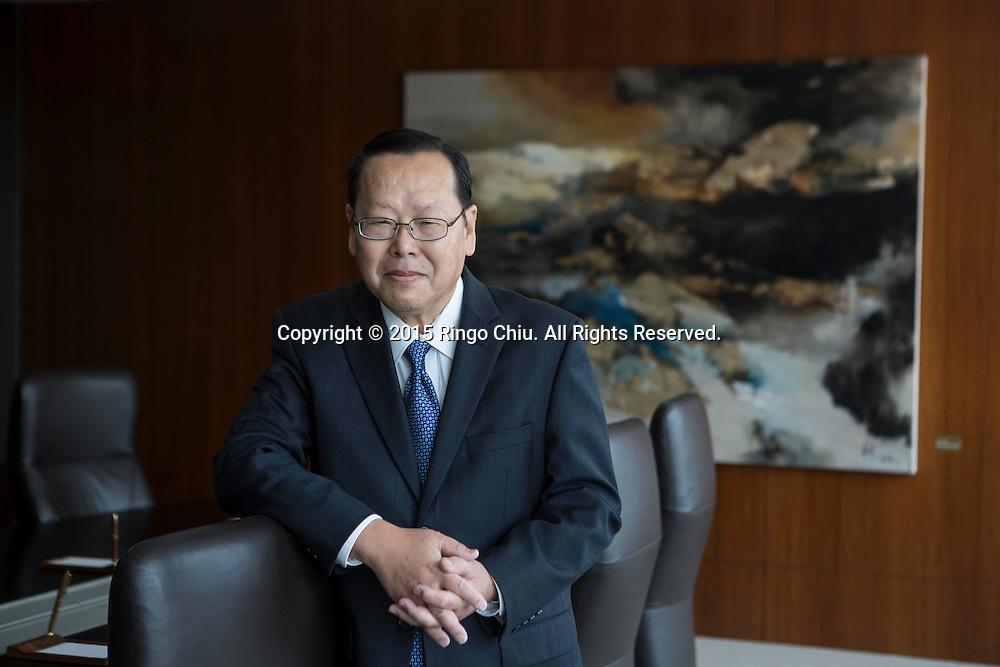 Heng Chen, CFO, Cathay Bank.Photo by Ringo Chiu/PHOTOFORMULA.com)