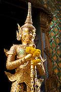 Exterior of a Buddhist temple Thailand, Bangkok,