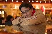 19.05.2006 Warszawa. Pisarz hiszpanski Jose Carlos Somoza. Fot. Piotr Gesicki