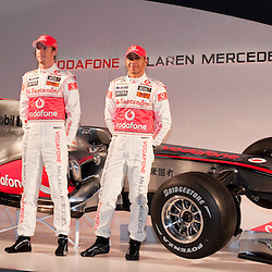 100129 Vodafone Mercedes Car Presentation