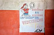 Revolutionary sign in Santiago de Cuba, Cuba.