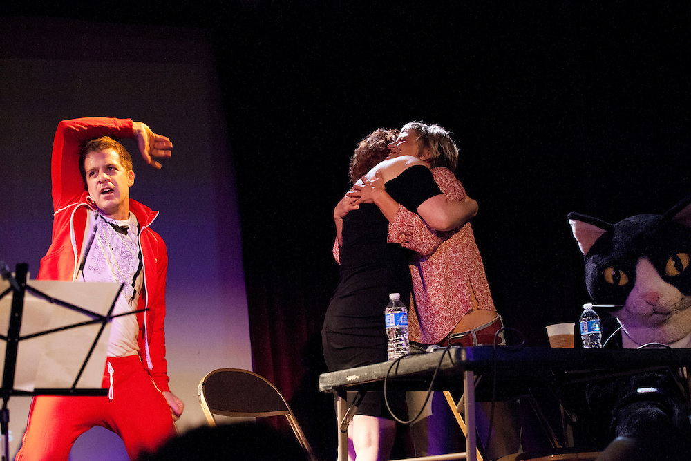 Julie Klauser, Martha Plimpton - How Was Your Week Live - The Bell House, Brooklyn - June 27, 2012
