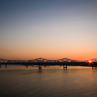 Sunrise on the Ohio River