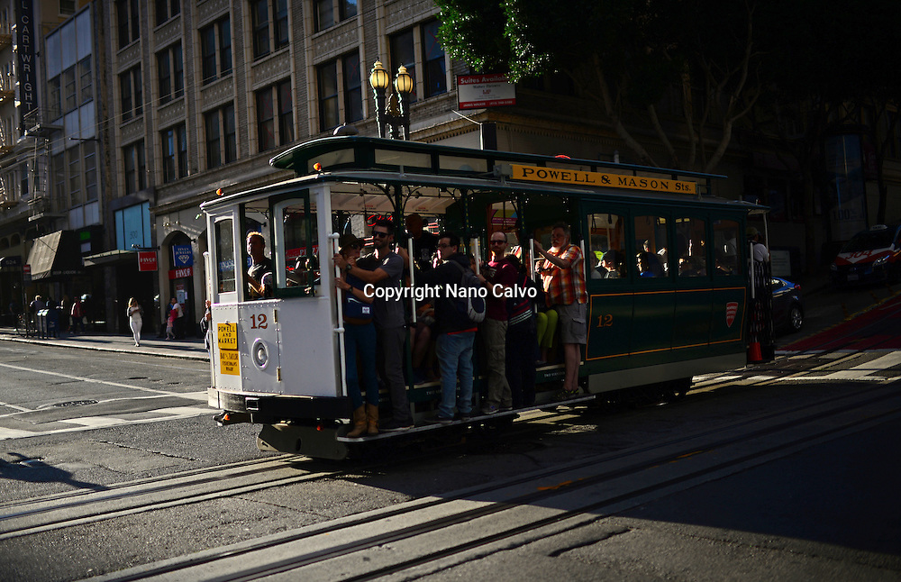 San Francisco cable car system is the world's last manually operated cable car system.