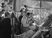 Crowd at a Market, Grinzing, Austria, circa 1933