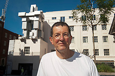 JUN 10 2014 Antony Gormley creates inhabitable sculpture