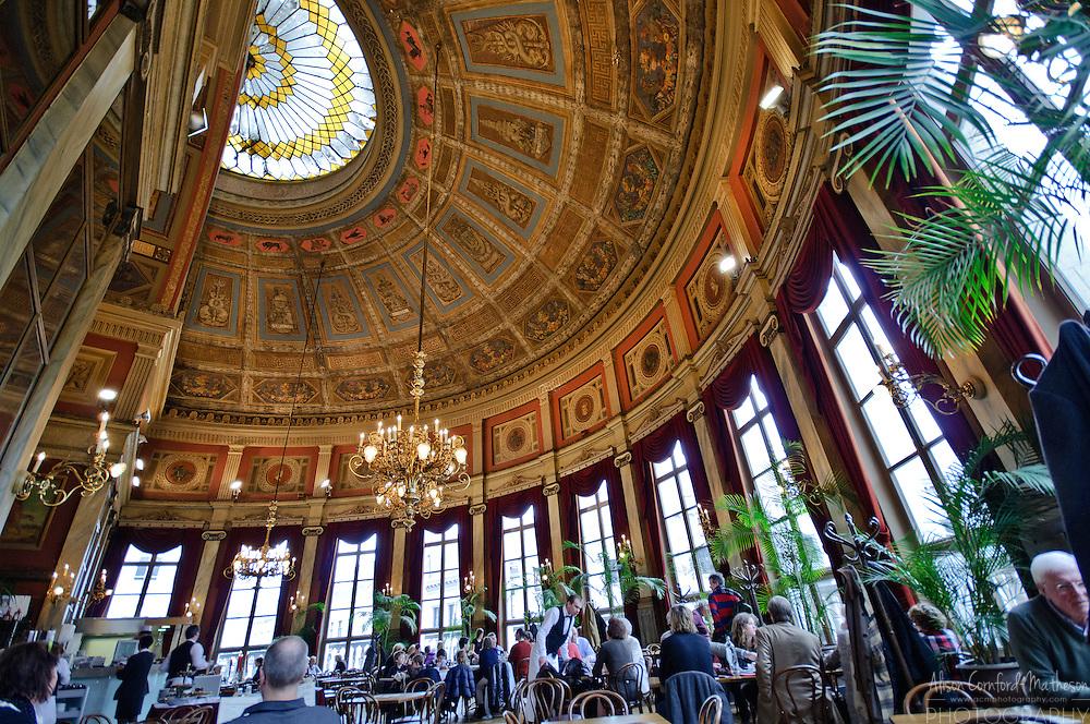 De Foyer Restaurant in Antwerp, Belgium is located inside the Bourla theatre.