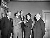 1957 - Hannington scholarship presentation by Hannington and Goodlass Wall