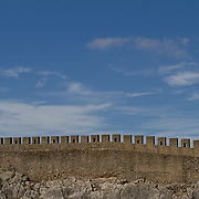"The name ""Óbidos"" probably derives from the Latin term oppidum, meaning ""citadel"", or ""fortified city"". Roman occupation of the area was confirmed by archaeological excavations, revealing the existence of a Roman city civitas near the hilltop on which the village and castle were established."