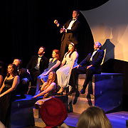 Senior Senior Patrick Ross (top row) during a dress rehearsal before the 13th Annual ArtsGala at Wright State University's Creative Arts Center, Saturday, March 31, 2012.