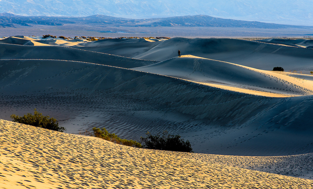 Mesquite Sand Dunes. Death Valley National Park, California