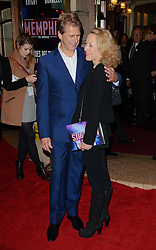 Andrew Castle and Sophia Castle attend Memphis Press Night at The Shaftesbury Theatre, Shaftesbury Avenue, London on Thursday 23rd October 2014