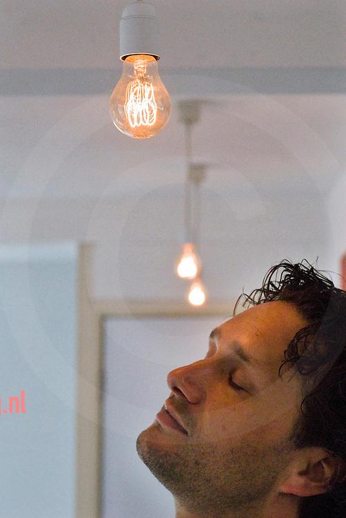 Peter Oosterwijk -creatief directeur - buroblink - voor marketing, communicatie en nieuwe media - Enschede 09-05-2007 foto: cees elzenga