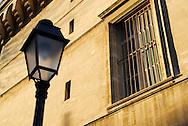 France, Languedoc Roussillon, Hérault (34), Montpellier, détail façade de la faculté de médecine