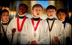 DEC 22 2014 St Pauls Choristers prepare for their busiest days of the year
