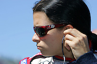 Danica Patrick at the Michigan International Speedway, Firestone Indy 400, July 31, 2005