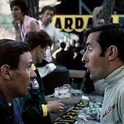 Scottish Formula One (Grand Prix) drivers Jim Cark (twice world champion) and Jackie Stewart (three times world champion). Were they speaking English or Scottish Gaelic?