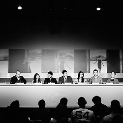 Following the whole Kinatay (dir. Brillante Mendoza) during their official screening day at the 62th Cannes Film Festival. France. 17 May 2009. Photo: Antoine Doyen